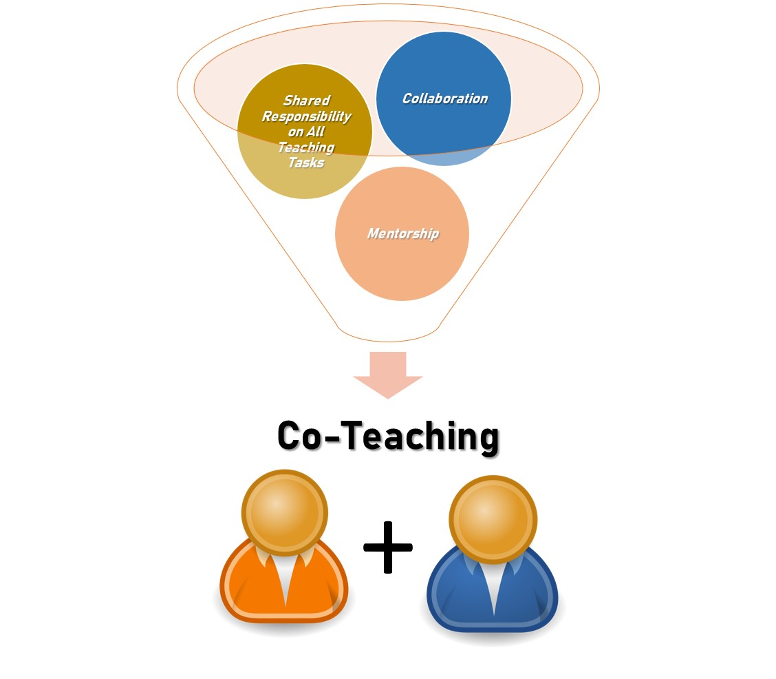 Diagram of the Co-teaching summary